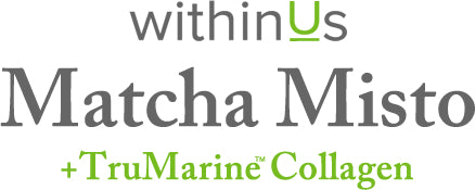 Matcha Misto + TruMarine™ Collagen text header FAQ