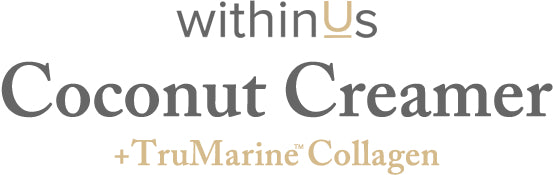 Coconut Creamer + TruMarine™ Collagen text header FAQ