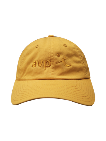 AVP Tonal Slouch Cap - Yellow