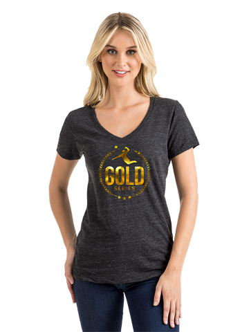 AVP Women's Foil Gold Series T-Shirt