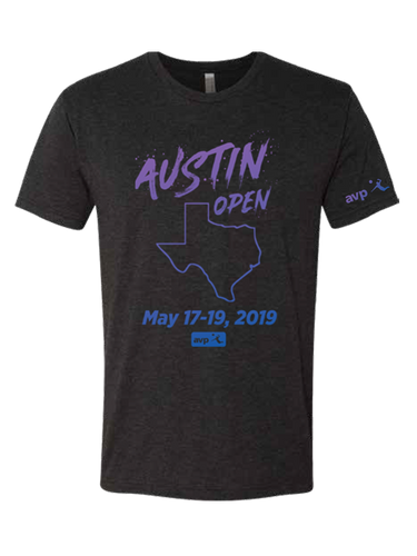 AVP 2019 Austin Open Event T-Shirt
