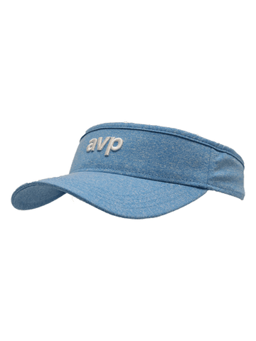 AVP Heathered Tech Visor - Blue