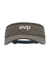 Load image into Gallery viewer, AVP Heathered Tech Visor - Grey