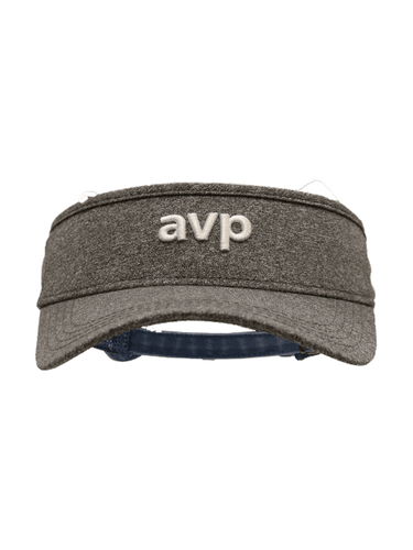 AVP Heathered Tech Visor - Grey