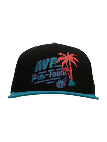 AVP Outfield Neon Snapback Cap