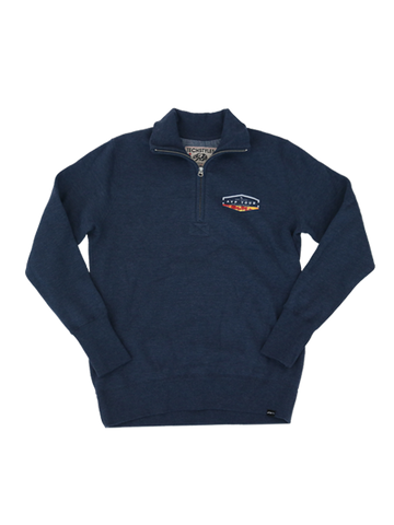 AVP Surf N' Turf Quarter Zip Jacket