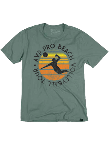 AVP Con Circle Sunset T-Shirt