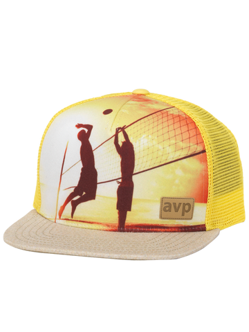 AVP Sand Pebble Sunset Player Cap