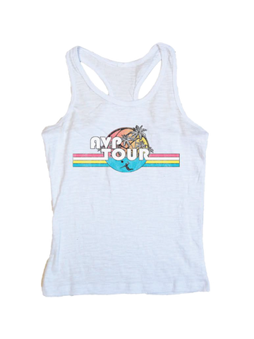 AVP Youth Girls Five Racerback Tank