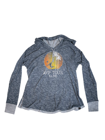 AVP Womens Frayed Sunset Hoodie