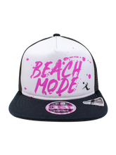 Load image into Gallery viewer, AVP 9FIFTY Beach Mode Frame Trucker Snapback Cap - Black