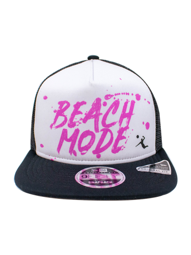 AVP 9FIFTY Beach Mode Frame Trucker Snapback Cap - Black
