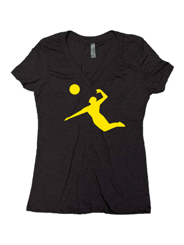 AVP Women's Jumpman V-Neck T-Shirt