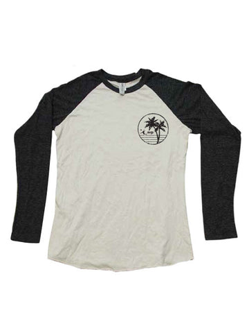 AVP Con Olop Baseball Raglan Long Sleeve T-Shirt