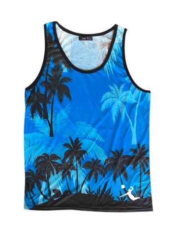 AVP Men's Blue Palms Tank