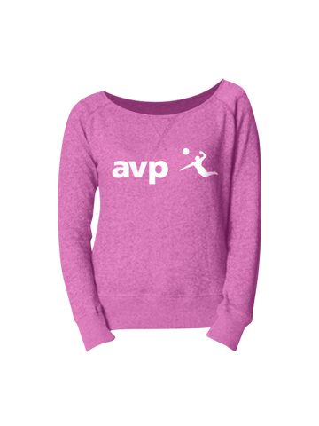 AVP Women's Logo French Terry Long Sleeve T-Shirt - Pink