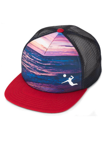 AVP Above It All Sunset Trucker Cap
