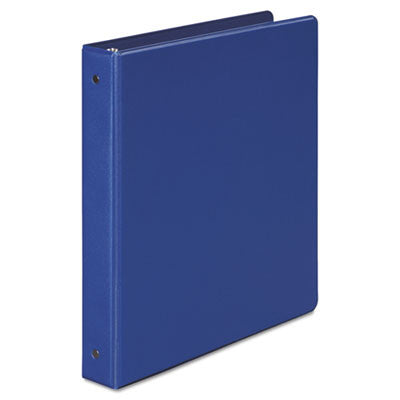 "1"" Dark Blue Round-Ring Binder"