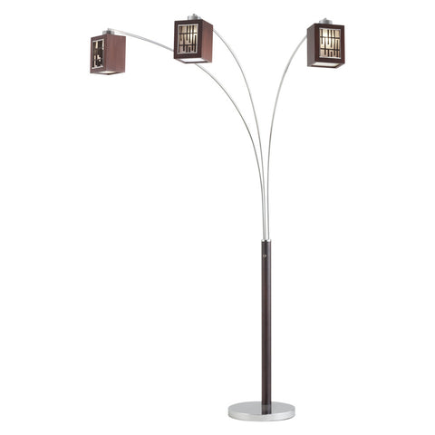Nova Belview 3-light Arc Floor Lamp