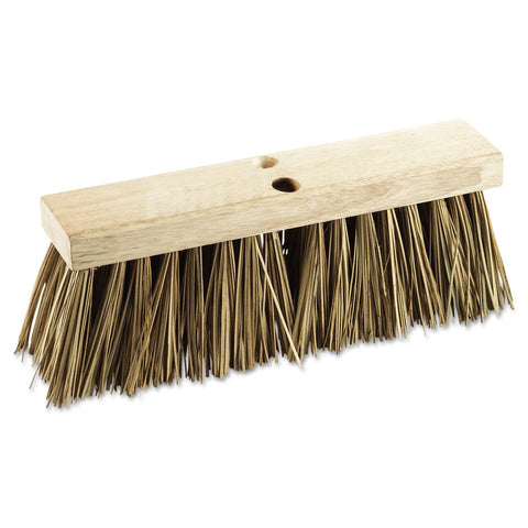 "Boardwalk 71160 Street Broom Head, 16"" Head, Palmyra Bristles"