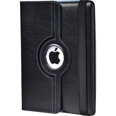 Targus THZ045US Versavu 360 Degrees Rotating Stand Case for Apple iPad 2(Black/Blue Interior)