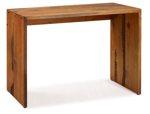 "48"" Solid Rustic Reclaimed Wood Entry Table - Amber"