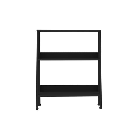 "30"" Wood Ladder Bookshelf - Black"