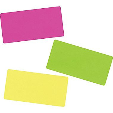 "Avery® 5978 Neon Laser Shipping Labels, 2"" x 4"", Assorted Colors, 150/Box"