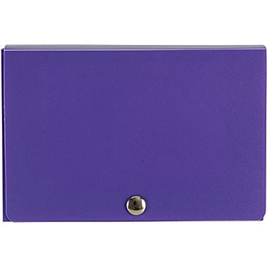 Index Card Case, Purple, 3/Pack