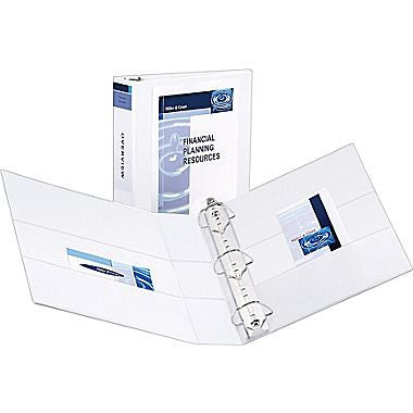 "2"" Avery® Durable View Binder with EZD Rings, White"