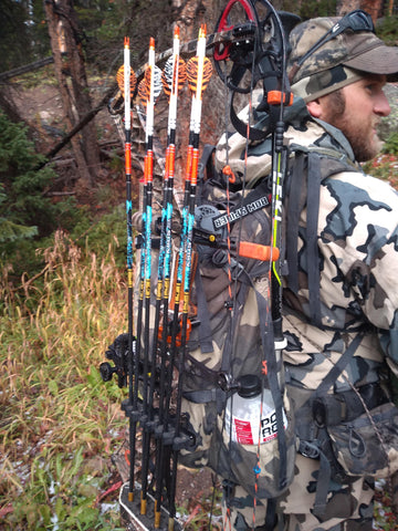 Pack your bow anywhere with this archery bow packing system