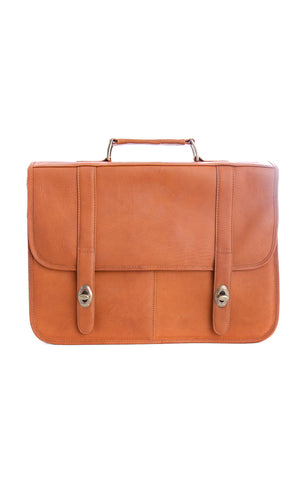 Frank Briefcase Brown