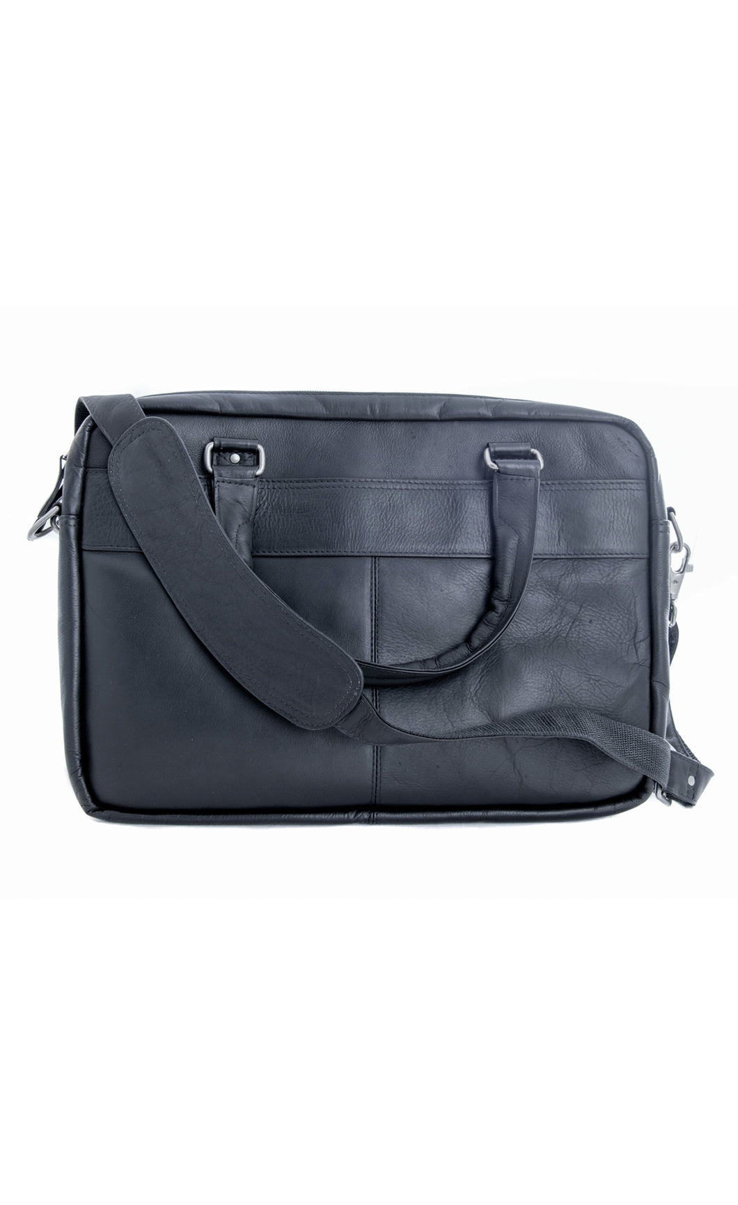 The Wall Street Briefcase Black