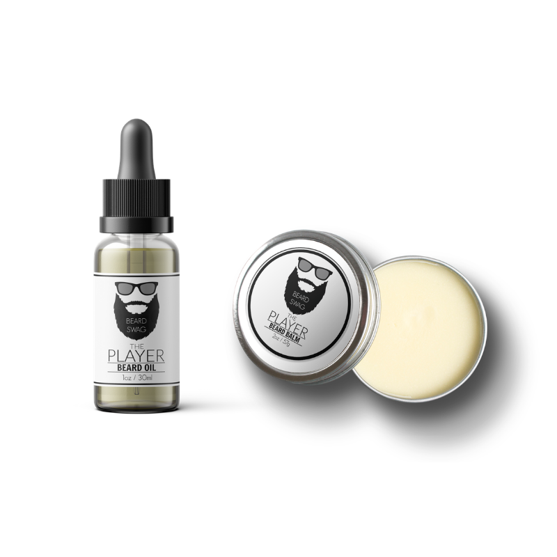 The Player beard oil and beard balm