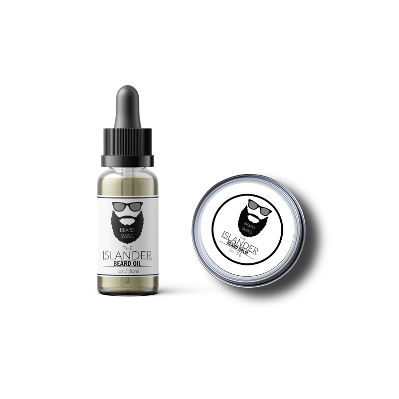 The Islander beard oil and beard balm