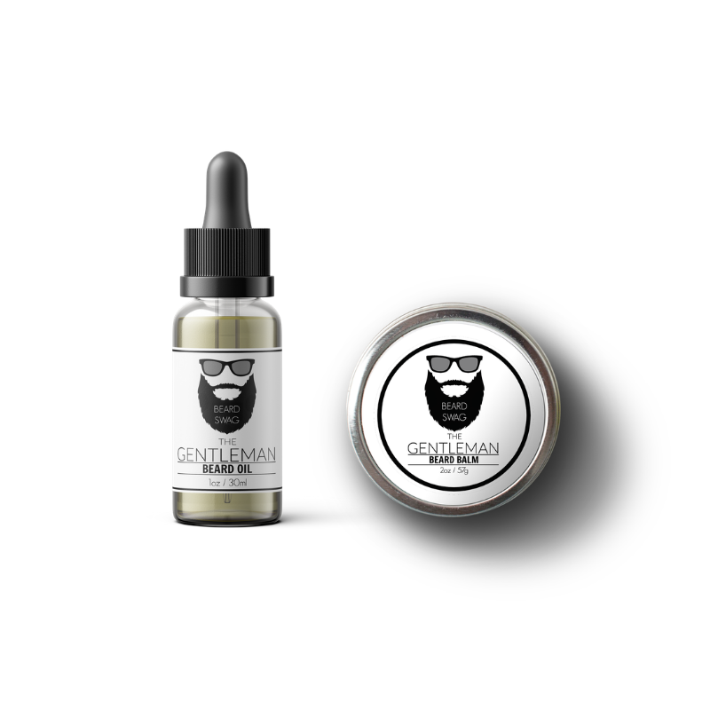 The Gentleman beard balm and beard oil