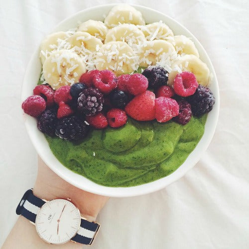 Healthy Matcha Brekky Smoothie Bowl fuels your energy for the whole morning