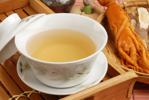 Ginseng is mostly used in tea and mainly as medicine not for food or beverage.