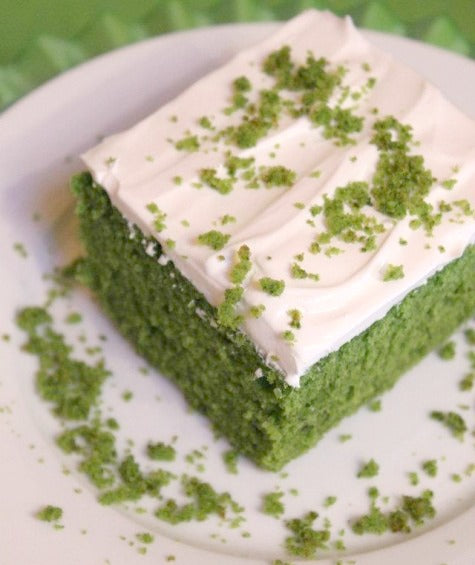 Spinach Cake, Turkish dessert cake made with Spinach