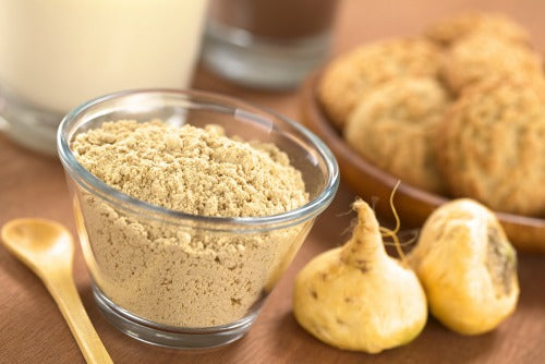 Maca powder is commonly used in South America to add into smoothies, oatmeal or juices