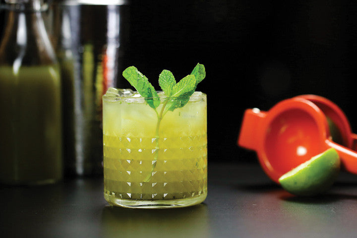 Matcha Green Tea Cooler (non alcohol mocktail)