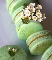 Matcha Macarons Recipe made by Fanny from Oh Sweet Day