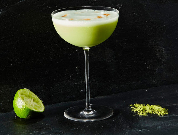 Matcha Pisco Sour by the Spirit of Cocktail & Culture Supercall