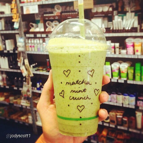 Matcha Mint Choc Smoothie from The Health Emporium