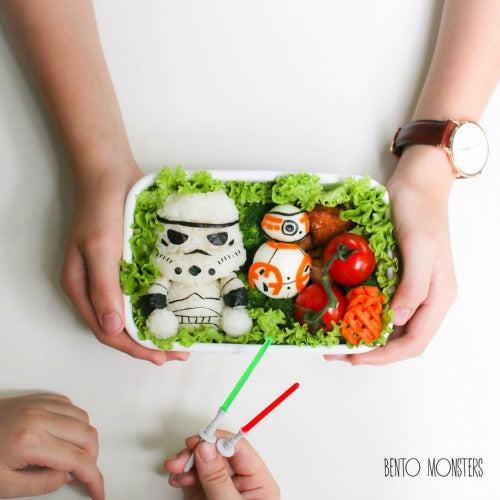 Star War themed Bento Rice Box by @bentomonsters