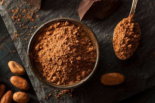 Raw cacao powder is beneficial to our mood and mind, and can help detoxify our body