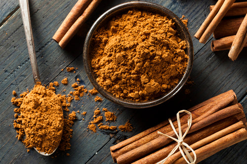 Cinnamon is not only versatile in different recipes but also great for the blood pressure, brain functioning and weight loss.