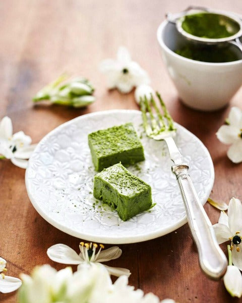 Royce Nama Chocolate inspired Matcha green tea nama chocolate for the Holiday Desserts