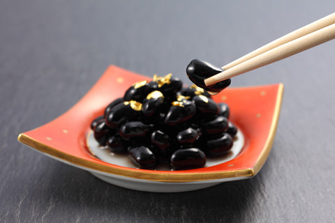 Kuromame Sweet Black Soybean Japanese Cuisine