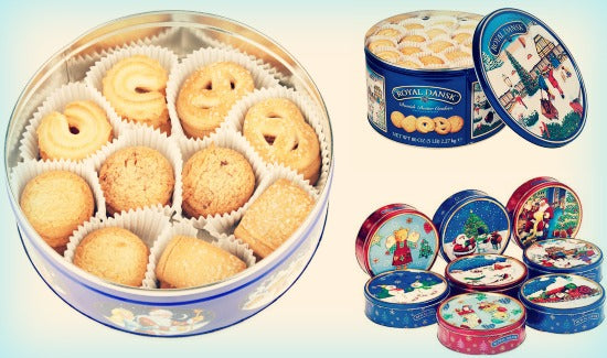 Royal Dansk Butter Cookies Tin is the all-time favourite Christmas treat around the world